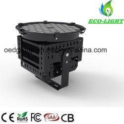 Fábrica de Shenzhen Novo tipo de grua-torre lâmpada de projeção LED SMD 200W Holofote Pólo Alta