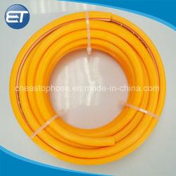 Reforço de fibra de plástico de alta pressão de PVC a mangueira de pulverização de água agrícola
