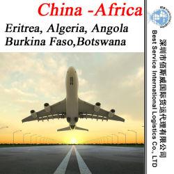 La Chine de l'agent de fret de l'Érythrée, l'Algérie, Angola, Burkina Faso, Botswana (Air)