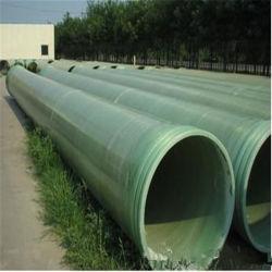 China fábrica de plástico de alta presión FRP GRP Rpm de tubo de fibra de vidrio.