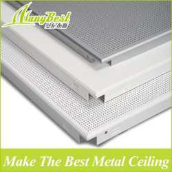 MDF de aluminio ligero Panel de techo