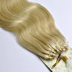 اللون الأشقر # 613 أوروبية الطوق الصغير تمديدات الشعر البشرية