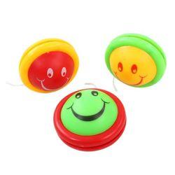 presente de promoção Sorriso Rosto plástico iô-iô iô-iô bola para as crianças (10224308)