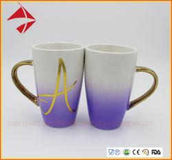 Tazza di ceramica su ordinazione di amore con la tazza di caffè di ceramica per l'insieme del regalo