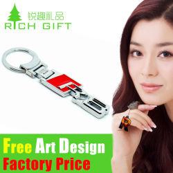 China OEM Personal Custom promocional Llavero de acero inoxidable