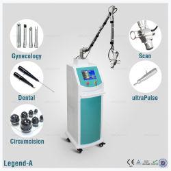 De vaginale Buis van het Glas van Co2 van de Verjonging rf voor Apparatuur van de Laser van Co2 van de Behandeling de Verwaarloosbare rf van de Acne