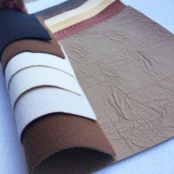 Снова Non-Woven ПВХ кожа для диван кошелек мебель мешки (1382)