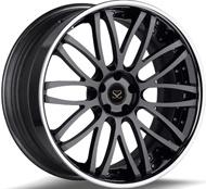 """#Sfw1001 18"""" 19"""" et 20"""" 1PC Hyper Silver roues forgées"""