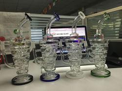 Spring PERC vetro acqua tubo forma triangolo buck stock all'ingrosso Percolarter Glass Enjoylifeworld