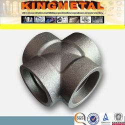 Forjadas de aço carbono de alta pressão Cruz (ASTM A105)
