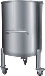 خزان تخزين كيميائي متحرك بسعة 500L-100000L بغطاء مفتوح