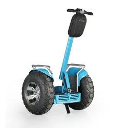 2018 fora da estrada 2 Rodas Electric Scooter, 21 polegadas grande roda, 4000W, 1266Motor sem escovas wh 72V Bateria dupla
