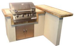 Het openlucht Eiland van de Barbecue van het Gas van de Keuken met Certificatie CSA