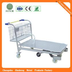 Wheelbarrow van het metaalmagazijn van hoge kwaliteit