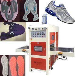 8kw Plástico de PVC de alta frecuencia de la máquina de soldadura superior de calzado deportivo de cuero//Logo patín plástico elástico repujado equipo