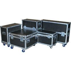 Aluminio personalizado de la carretera de vuelo de los casos de equipos para DJ (HF-1300)