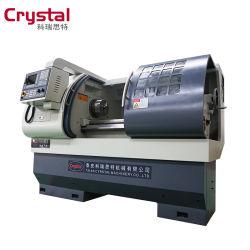 Minigrößen-Präzision, die CNC-Drehbank Ck6136A-1 für Metall dreht