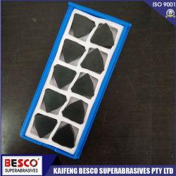 Alta resistência à abrasão PCBN Diamond Indexable insertos de Corte Ferramentas máquinas CNC