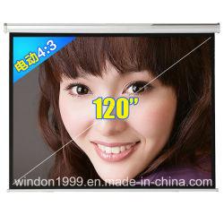 120-inch 16: 9 gemotoriseerde afstandsbediening voor het projectiescherm van de elektrische auto-projector