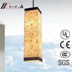 Lampada Pendant del quadrato delle coperture di Natual di alta qualità di Guzhen