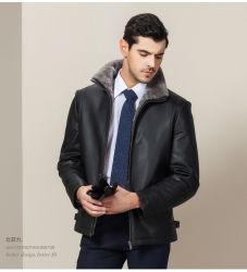 고품질 OEM Plus Size 유럽 패션 정품 가죽 재킷
