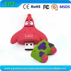 맞춤형 디자인 소프트 PVC 플래시 메모리 펜드라이브 USB 스틱(EP286)