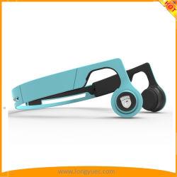 À conduction osseuse Sweatproof Casque Bluetooth casque de sport avec bande élastique