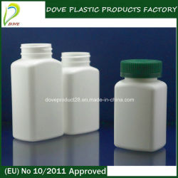 120ml HDPE Plastic Medicine Bottle met Pilfer Proof GLB