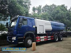 HOWO 18cbm 10wheeler industrieller Großserienabfluss-spritzenreinigungs-LKW