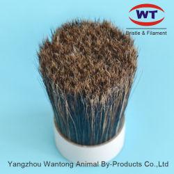 Duro Rojo natural de cerdas de jabalí cepillo para el cabello