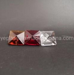 Branelli allentati di cristallo del lampadario a bracci variopinto allentato quadrato di cristallo dei branelli 14mm per la decorazione di illuminazione