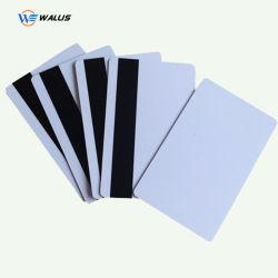 Scheda di plastica in bianco personalizzata dei prodotti del PVC di stampa in offset Cr80 Cr90 di colore/scheda del PVC del getto di inchiostro della scheda astuta interfaccia doppia RFID
