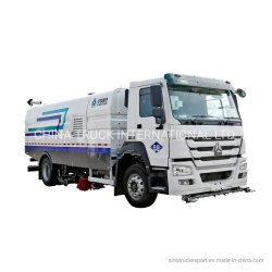 Véhicules neufs et usagés vide haute pression chariot de nettoyage de la rue/route de lavage et de la balayeuse de route/balayeuse