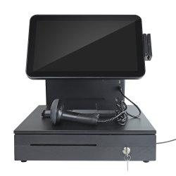 Tout en un seul 15,6'' Touch POS System /POS/ Terminal Point de Vente/ Caisses enregistreuses avec tiroir-caisse, afficheur client, l'imprimante