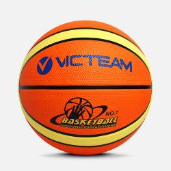 Formato su ordinazione poco costoso 5 di marchio sfera di pallacanestro della gomma 6 7