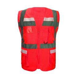 La promotion de protection personnelle Clothingmine haute visibilité maille Gilet de chasse de la sécurité industrielle