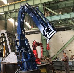 De hydraulische Mariene Kraan van de Boom van het Gewricht van de Kraan Vouwbare met de Certificatie van BV