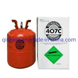 Het gemengde Gas 11.3kg van het Koelmiddel R407c voor KoelSysteem