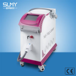 ND YAG лазера с коммутацией каналов Q Tattoo снятие Clinc салон красоты с помощью щитка приборов