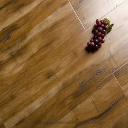 木の床の容易なクリックは8.3mm 12.3mm HDF AC3 Class31の正方形のEdge/U Groove/V溝の積層物を設計するか、またはフロアーリングを薄板にした