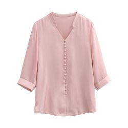 형식 여자 의복 착용 의복 의류는 숙녀 셔츠를 입는다 Ladies Tops Silk Blouse