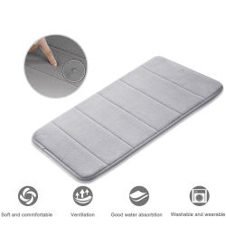 洗濯できる反スリップの防水メモリ泡の床のマット