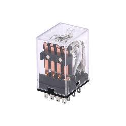 HH54p 14 контакт электромагнитных мини-реле питания 220 В переменного тока