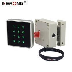 KERONG 지능적인 열쇠가 없는 RFID 카드 내각 로커 서랍을%s 원격 제어 지적인 Bluetooth를 가진 작은 패스워드 찬장 자물쇠