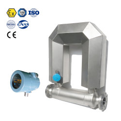 Atex 세륨 승인되는 Coriolis 질량 흐름 미터