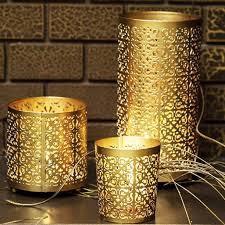 Gravure chimique de l'artisanat abat-jour de lampe de table en acier inoxydable