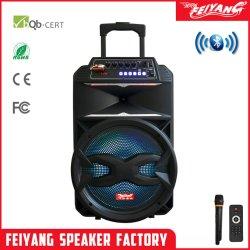 صوت سماعة الصوت بتقنية Bluetooth® الخاصة بـ Feiyang TWS Parlante Active Trolley صندوق