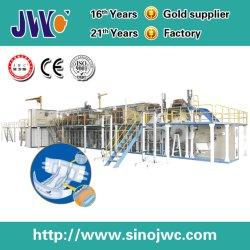 Servo-W formato completo estilo Brdge máquinas de fraldas para adultos (JWC-LKC-SV-W)