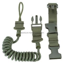 Imbracatura elastica registrabile di vendita calda della sagola della molla del sistema Paintball della cinghia della pistola di Airsoft dei due punti dell'imbracatura tattica del fucile