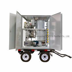 Purificador de óleo do transformador móvel exterior a máquina